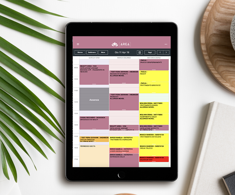 beautycheck planning tablet